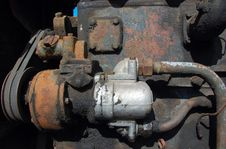 Rusty Engine Royalty Free Stock Photo