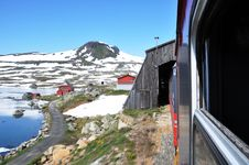Free Train In Norway Royalty Free Stock Images - 20328089