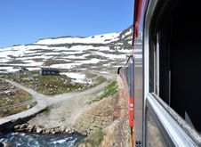 Free Train In Norway Stock Photography - 20328092