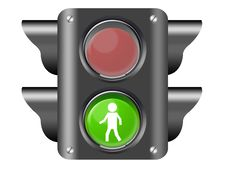 Free Traffic Light Stock Photography - 20328242