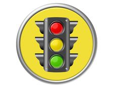 Free Traffic Light Button Stock Photo - 20328460