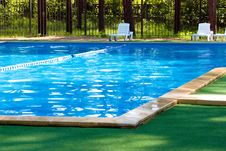Free Pool In The Woods Royalty Free Stock Image - 20328626
