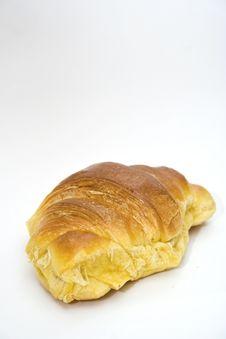 Free Croissant On White Stock Image - 20328771