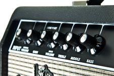 Free Guitar Amplifier Royalty Free Stock Image - 20328876