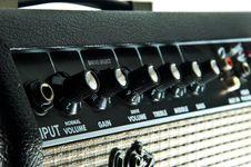 Free Guitar Amplifier Stock Photos - 20328923