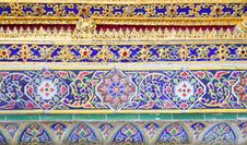 Free Beautiful Thai Ornament Texture Royalty Free Stock Photos - 20328958