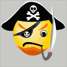 Free Pirate Icon Royalty Free Stock Photos - 20328968