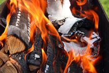 Free Burning Wood Stock Photos - 20329063