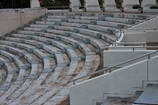 Free Seats Around The Stadium. Royalty Free Stock Image - 20329536