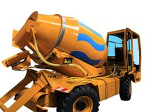 Free Concrete Mixer Royalty Free Stock Images - 20329559