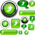 Free Upload Green Signs. Stock Photo - 20339800