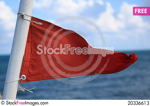 Free Red Flag Stock Photos - 20336613