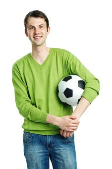 Free Fond Of Football Stock Image - 20330351