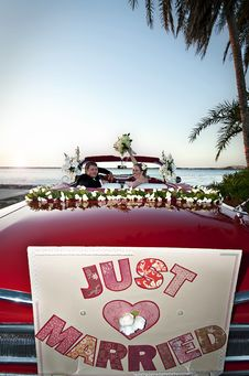 Free Just Married Royalty Free Stock Image - 20331276
