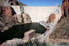 Free Roosevelt Dam, Arizona Royalty Free Stock Image - 20331496