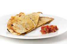 Free A Cheese Quesadilla Royalty Free Stock Photography - 20331967