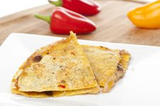 Free A Cheese Quesadilla Royalty Free Stock Photography - 20331987