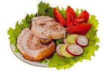 Free Roast Pork Royalty Free Stock Image - 20332146