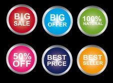 Free Buttons Stock Images - 20332254