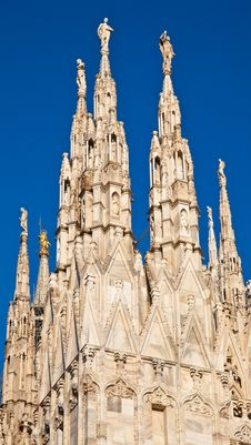 Free Milan Cathedral Stock Images - 20332624