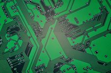 Free Circuit Board Royalty Free Stock Photo - 20332855