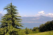 Views Of Lake Garda Royalty Free Stock Photos