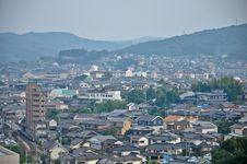 Free Topview Of Isahaya City Stock Image - 20334461