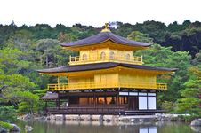 Golden Temple In The Lake Stock Photos
