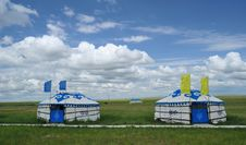 Free Mongolia Packages Yurt Royalty Free Stock Image - 20334936