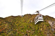 Free Cable Car On The Mountain Royalty Free Stock Photography - 20335607