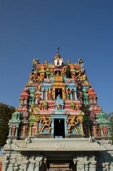 Free Meenakshi Hindu Temple In Madurai, Tamil Nadu Stock Images - 20335704