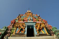 Free Hindu Temple, South India, Kerala Royalty Free Stock Images - 20335719