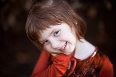 Free Smilling Girl Stock Photography - 20336152