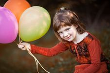 Free Play With Baloons Stock Photo - 20336210