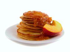Free Pancakes With Jam Royalty Free Stock Photo - 20337205