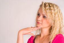 Free Cute Woman Portrait Stock Images - 20337744