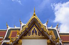 Wat Phra Sri Mahathat Royalty Free Stock Photo