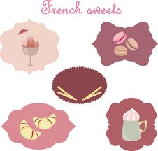 Free French Sweets Royalty Free Stock Photography - 20338507