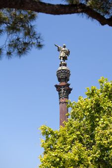 Free Christopher Columbus, Barcelona Royalty Free Stock Photography - 20338757