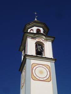Free Church Of Bosco Gurin, Switzerland Royalty Free Stock Image - 20339566