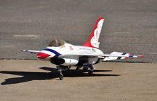 F16 Jet Aircraft. Stock Photo
