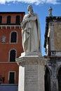 Free Dante S Statue Verona Royalty Free Stock Photos - 20340868
