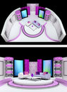 Free Tv Studio Design Royalty Free Stock Image - 20341766