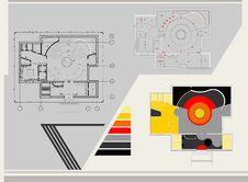 Free Cafe Plan, Stock Image - 20341811