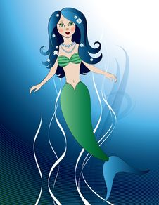 Free Mermaid Royalty Free Stock Photo - 20344485