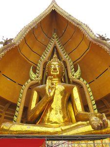 Free Massive Buddha Statue Stock Image - 20344691
