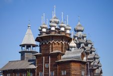 Free Wooden Churches On Island Kizhi Stock Images - 20344914