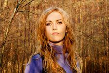 Free Beautiful Blondy Girl Royalty Free Stock Image - 20344946