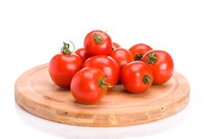 Free A Bunch Of Tomatoes Royalty Free Stock Images - 20345869
