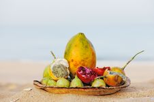Free Exotic Fruits Royalty Free Stock Photography - 20346787